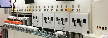 panel sterowania produkcją